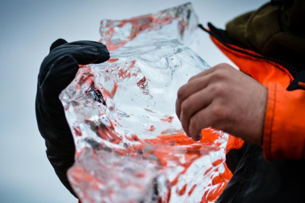 Bryła lodu topnieje jak zasięg na Facebooku